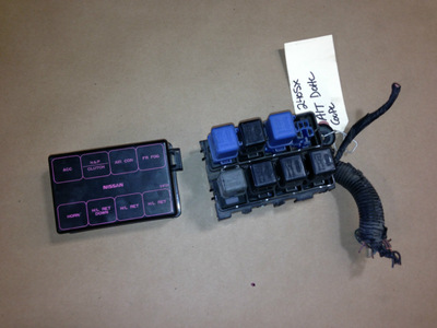 89-94 nissan 240sx oem under hood fuse box with fuses ... 240sx fuse box 1990 nissan 240sx fuse box diagram