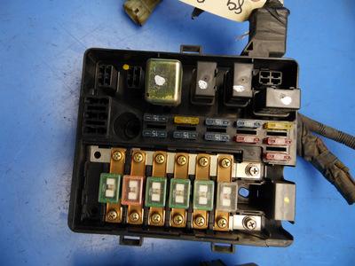 88 89 honda prelude oem under hood fuse box fuses relays flaw 2 rh ebay com 1989 honda prelude fuse box 1989 honda prelude fuse box