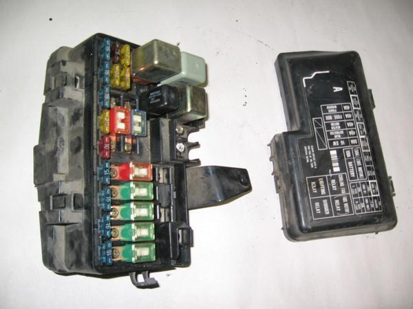 92-96 honda prelude oem under hood fuse box w/ fuses | ebay fuse box for 96 honda fuse box for 2002 honda civic #7
