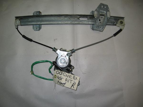 96 00 honda civic oem front right passenger side power for 2000 honda civic power window regulator