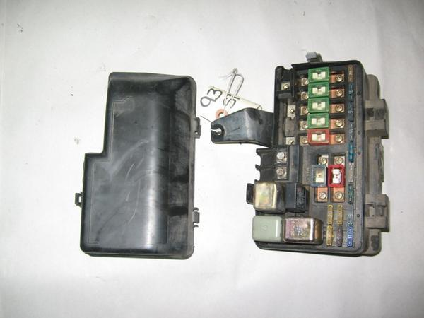 96 miata fuse box under hood 92-96 honda prelude oem under hood fuse box with fuses ...