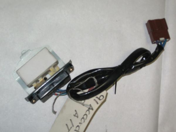 90 93 Honda Accord Oem Ac Heat Blower Motor Fan Speed Resistor