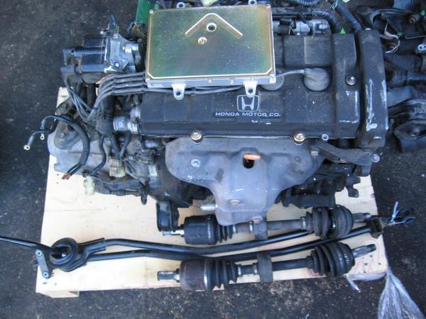 90 91 92 93 acura integra oem complete engine motor b18 ls civic ebay