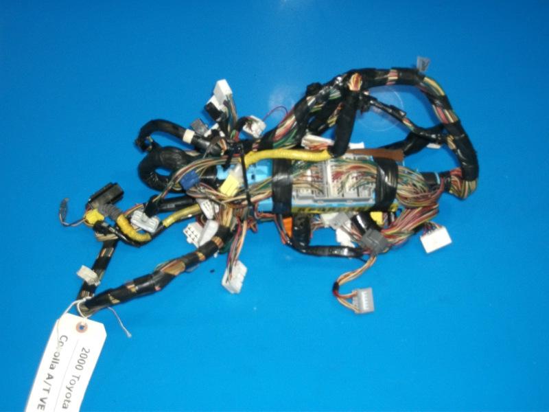 98-02 Toyota Corolla OEM odometer gauge cluster dash wiring harness ...