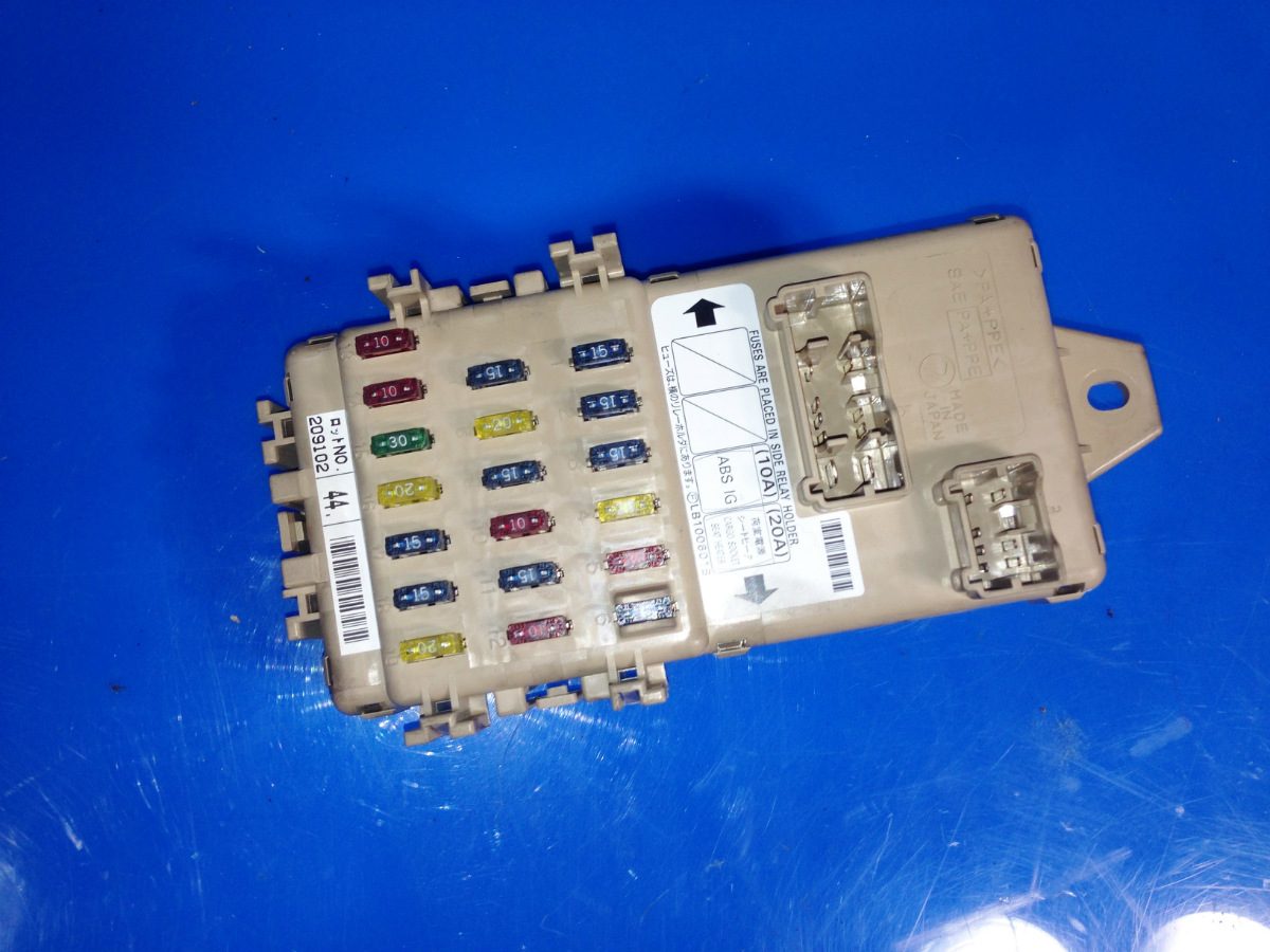This is a in-dash fuse box with fuses and relays removed from a 03 Subaru  Impreza Ts. SHOULD fit 02-05 Subaru Impreza BUT PLEASE double check to be  sure of ...