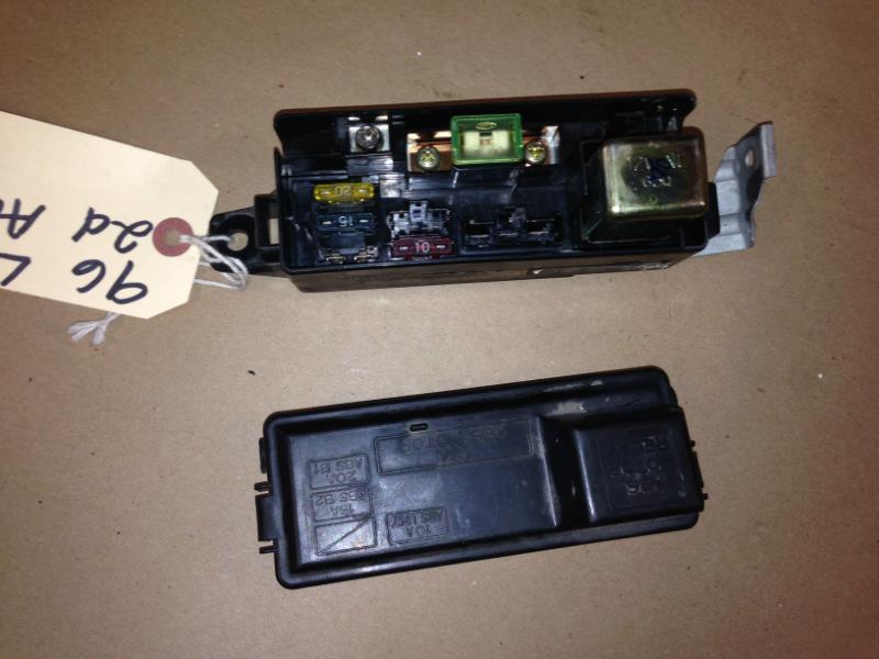 94 97 acura integra oem abs brake fuse box block with fuses and rh ebay com 1995 Acura Integra Fuse Box Diagram Acura Integra Fuse Box