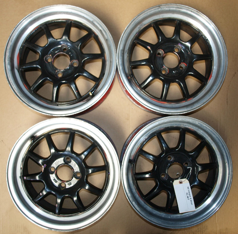 Rota GT 3 15x7 4x100 Wheels Rims Acura Honda Civic Integra