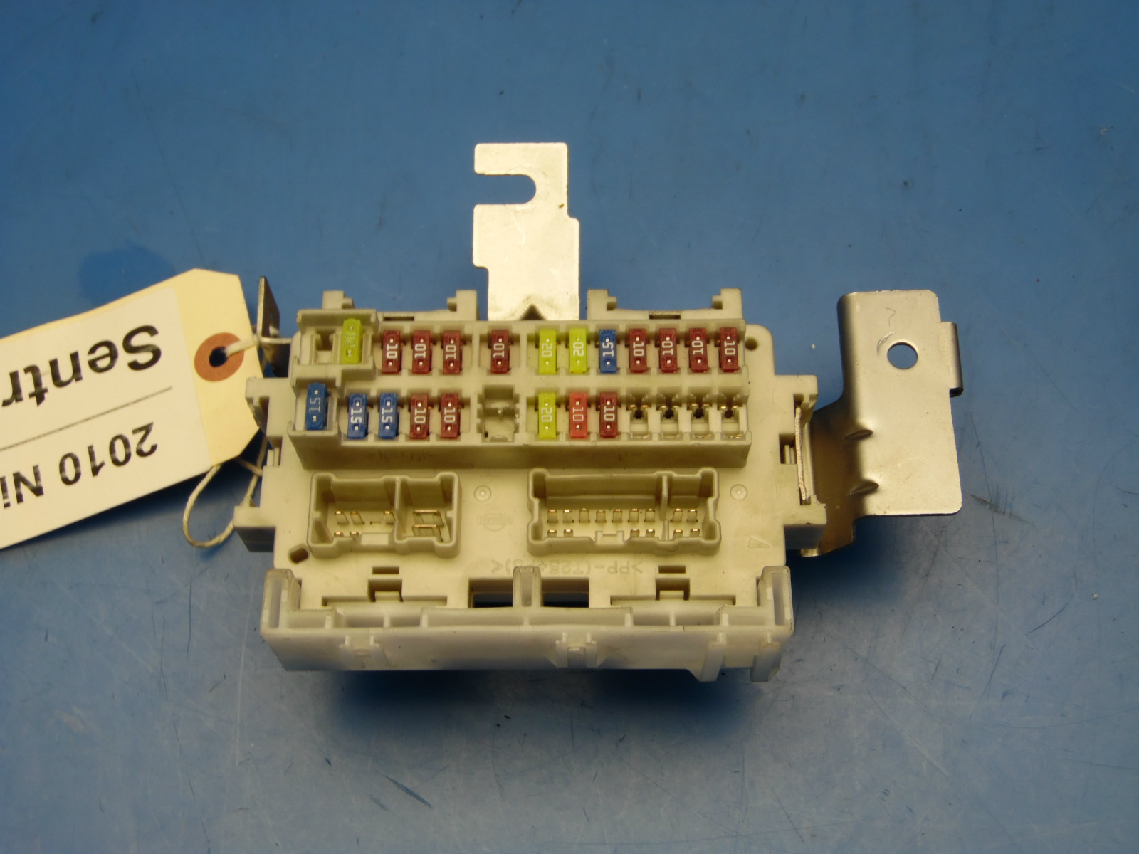 2007-2012 nissan sentra oem in-dash fuse box with fuses & relays #