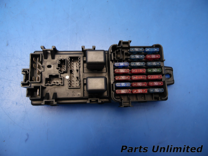 9497 Mitsubishi 3000gt Oem Indash Fuse Box W Fuses Relays Vr4: 1993 Mitsubishi 3000gt Fuse Diagram At Johnprice.co