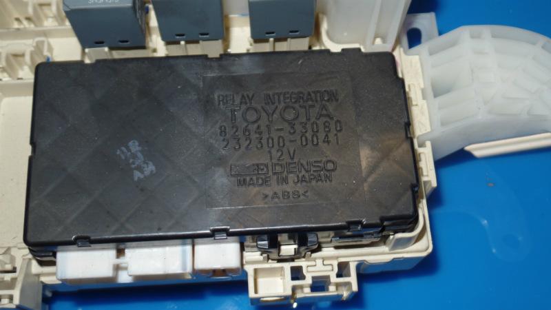 97 01 lexus es300 oem in dash fuse box w  integrated control module 82641 33080 ebay 91 Lexus ES300 fuse diagram 97 lexus es300