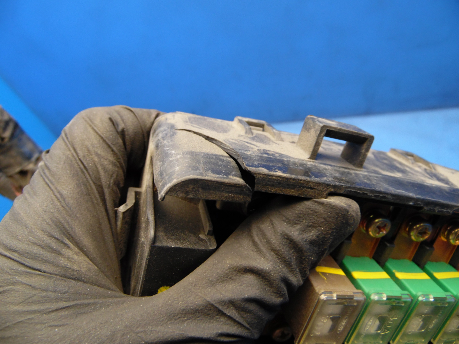 88 89 Honda Prelude Oem Under Hood Fuse Box Fuses Relays Flaw 2 91