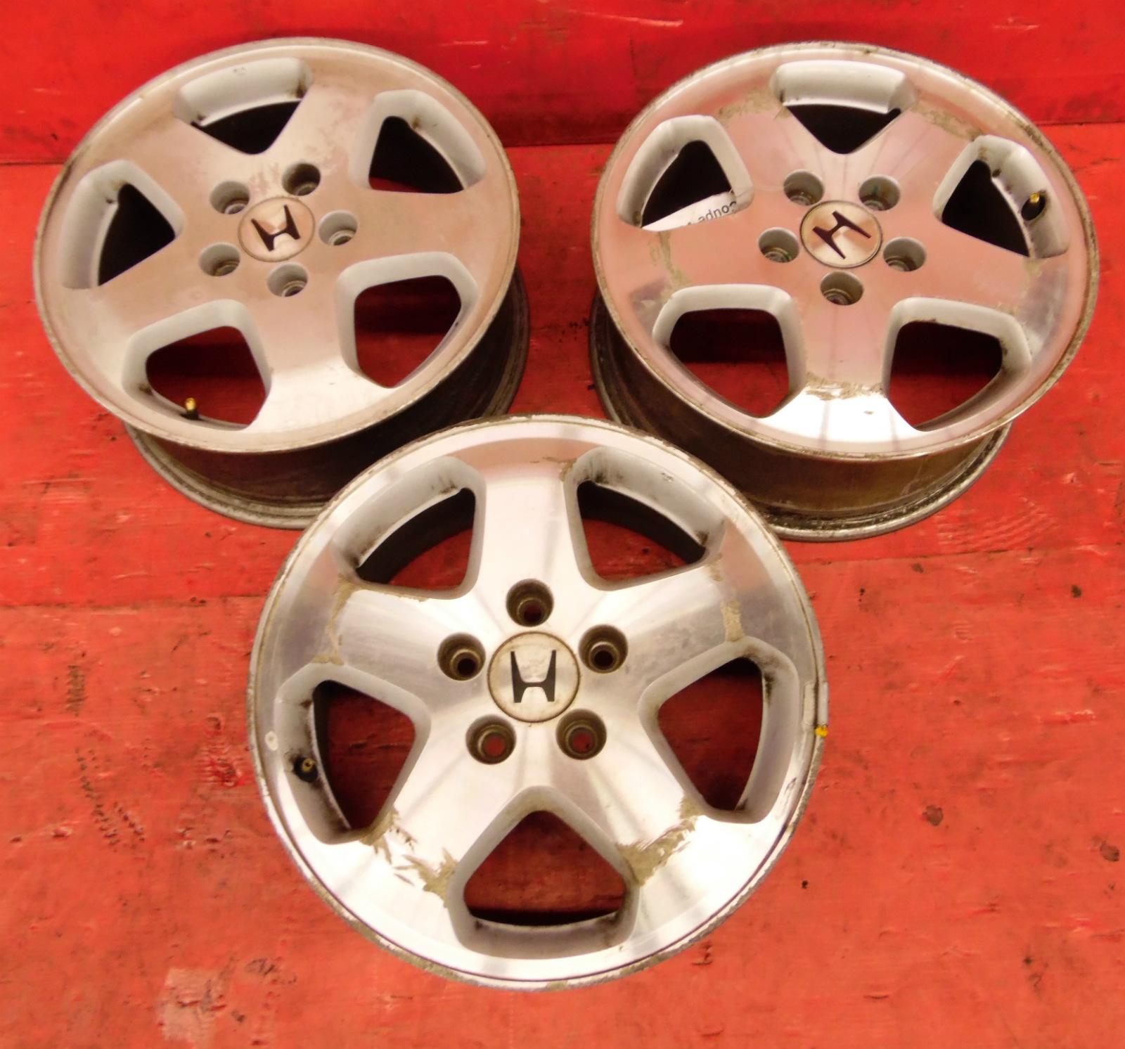 "98-02 Honda Accord OEM 5 spoke 16"" wheels rims STOCK factory 6 cyl 5 lug x3  only"