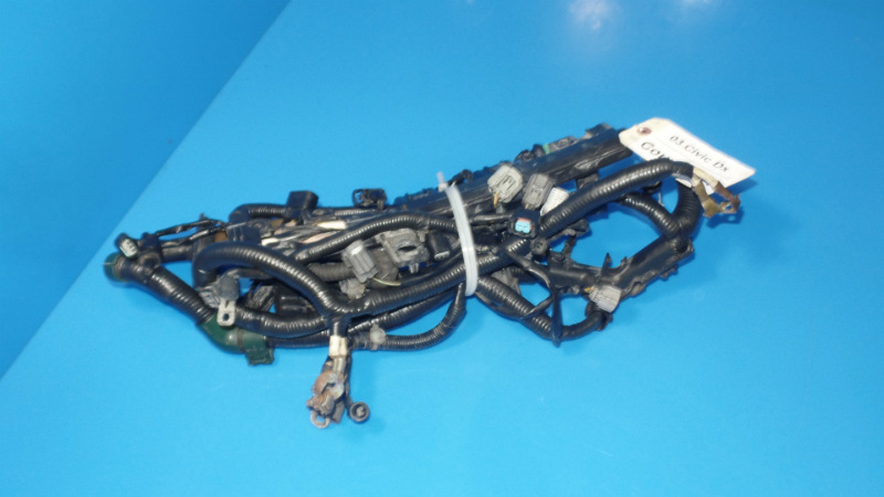 SAM_7352 01 05 honda civic oem engine motor wiring harness loom dx lx m t ebay