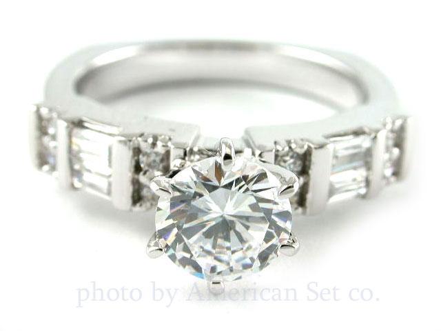 Diamond Ring Settings For Round Diamonds