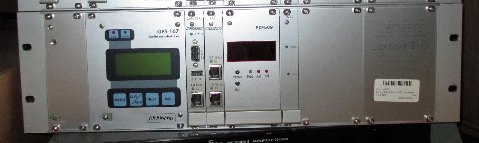 Details about Meinberg Lantime/SHS Secure Hybrid System NTP Time Server