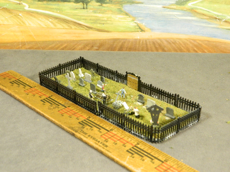 how to build a cemetery fence
