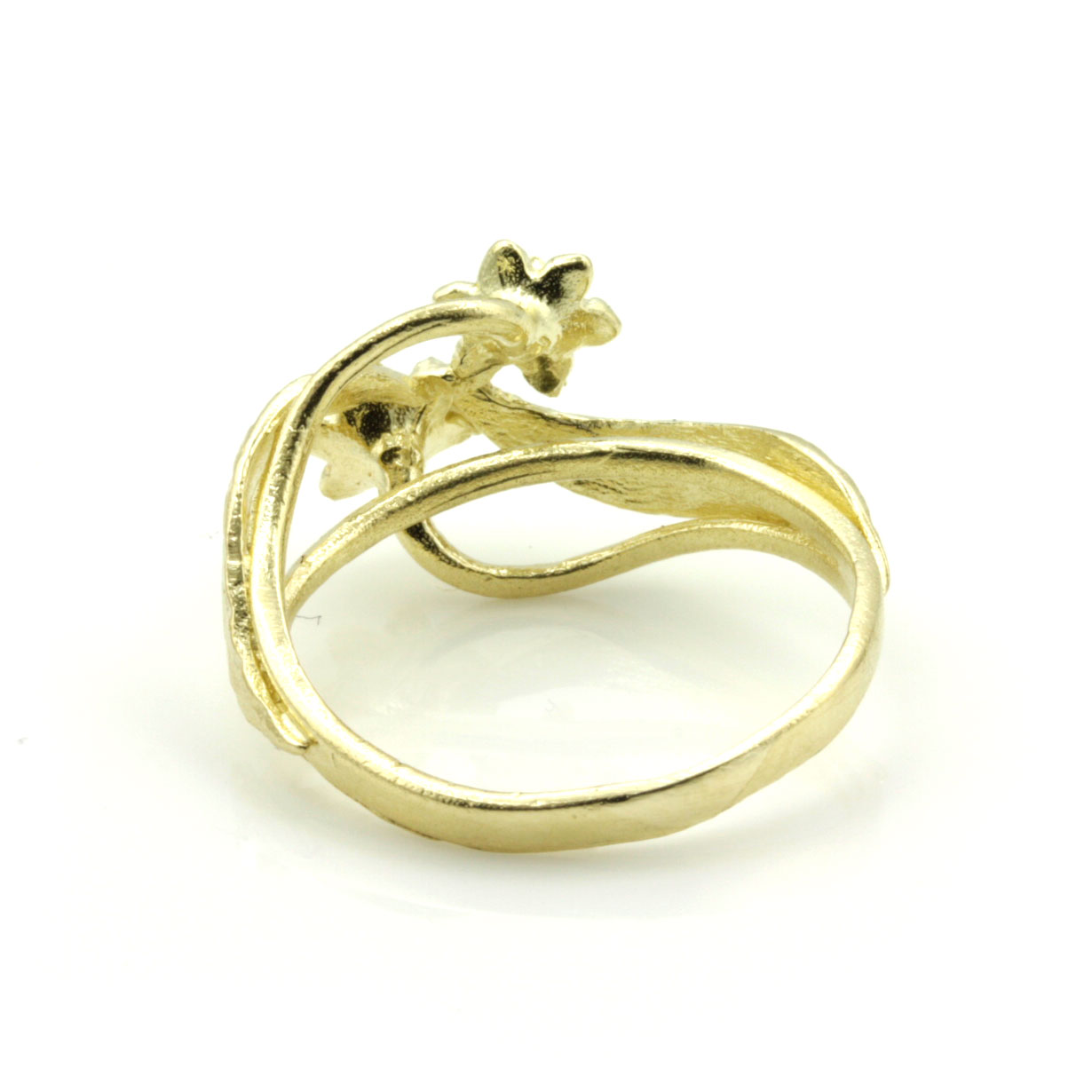 Welsh Wedding Ring: 9ct Yellow Gold Welsh Design Ring With Daffodil Flower