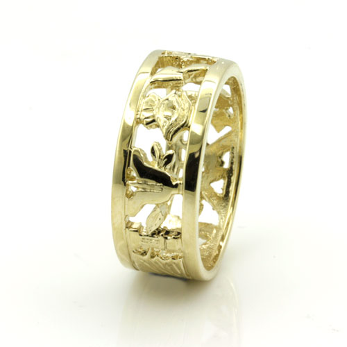mans solid 9ct yellow gold masonic wedding ring free mason With masonic wedding ring