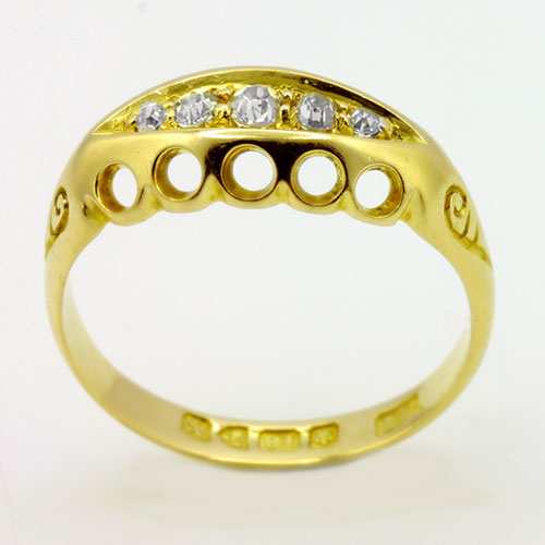 Edwardian Boat Ring