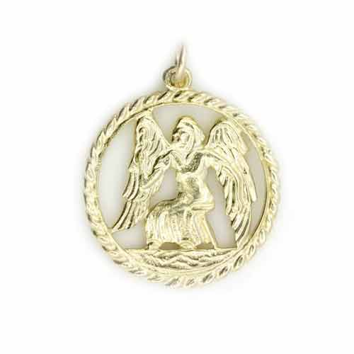 new 9ct yellow gold zodiac sign horoscope