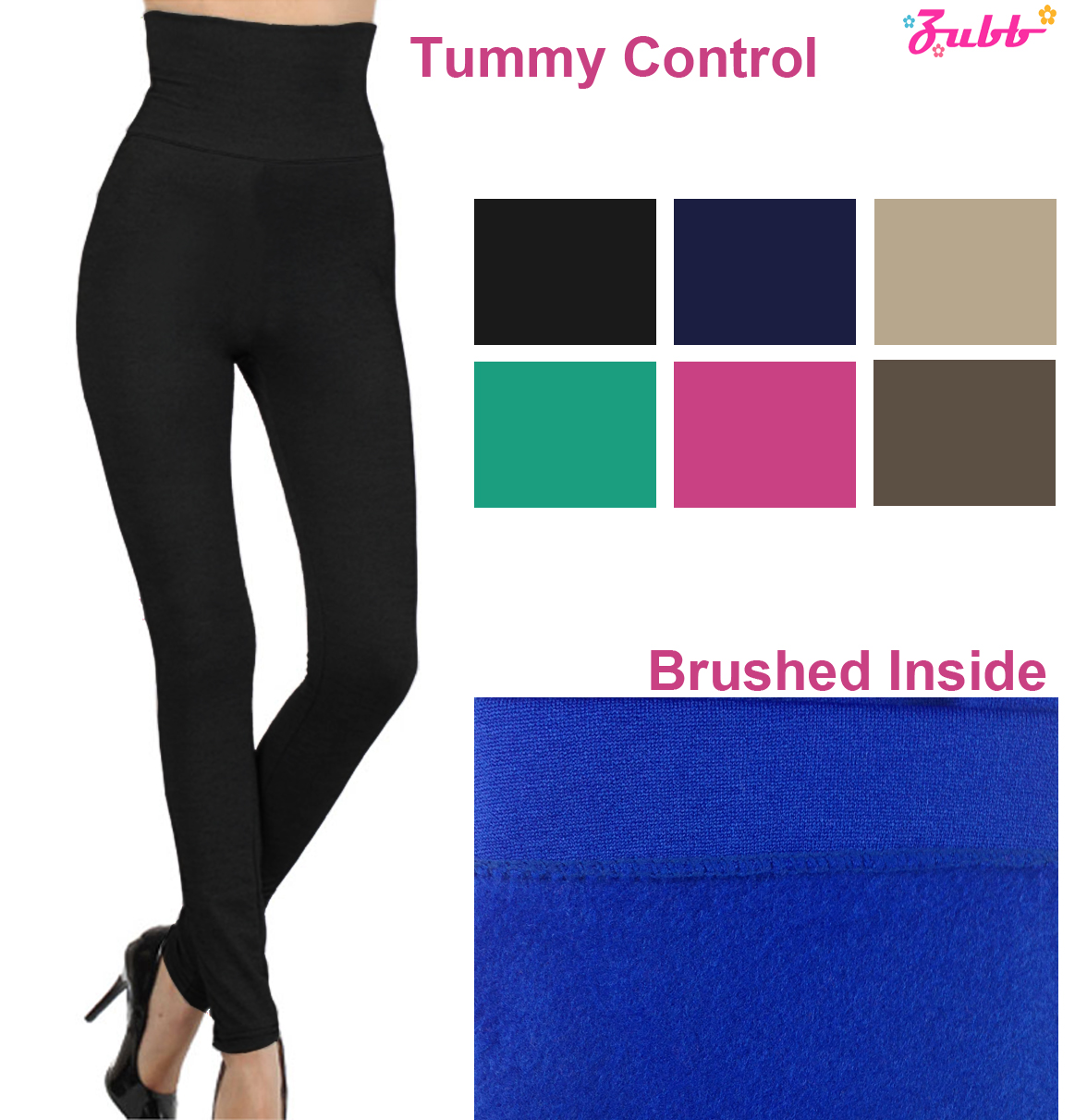 High Waist Thick Winter Tummy Control Skinny High Waist Fleece ...