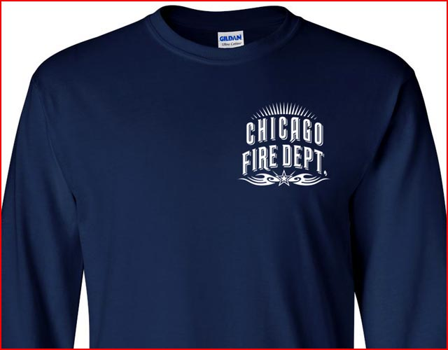 Chicago fire department t shirt tribal m l xl 2xl 3xl 4xl short long