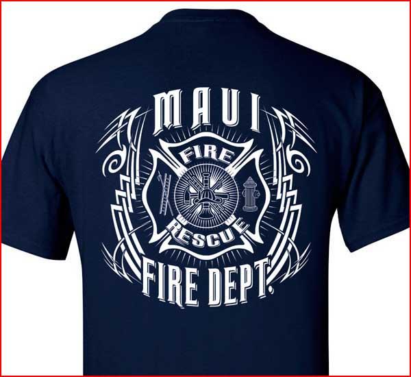 Fire department shirt designs related keywords fire for Fire department tee shirt designs