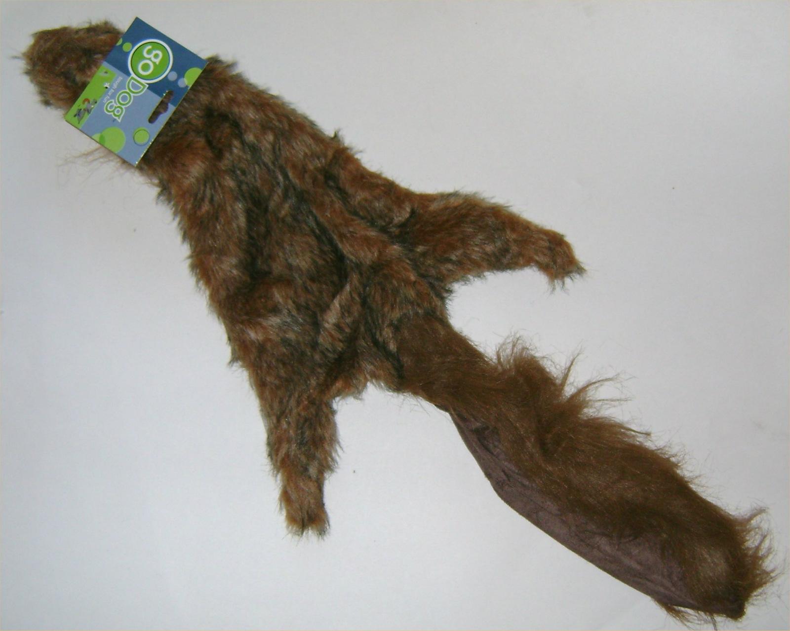 Roadkill Squirrel Dog Toy