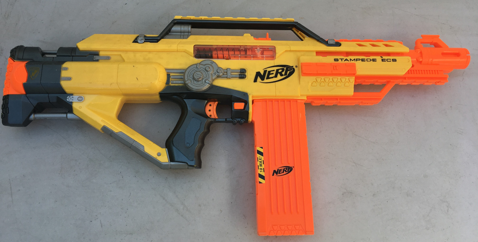 Hasbro 2010 Nerf N Strike Stampede Ecs Automatic Blaster