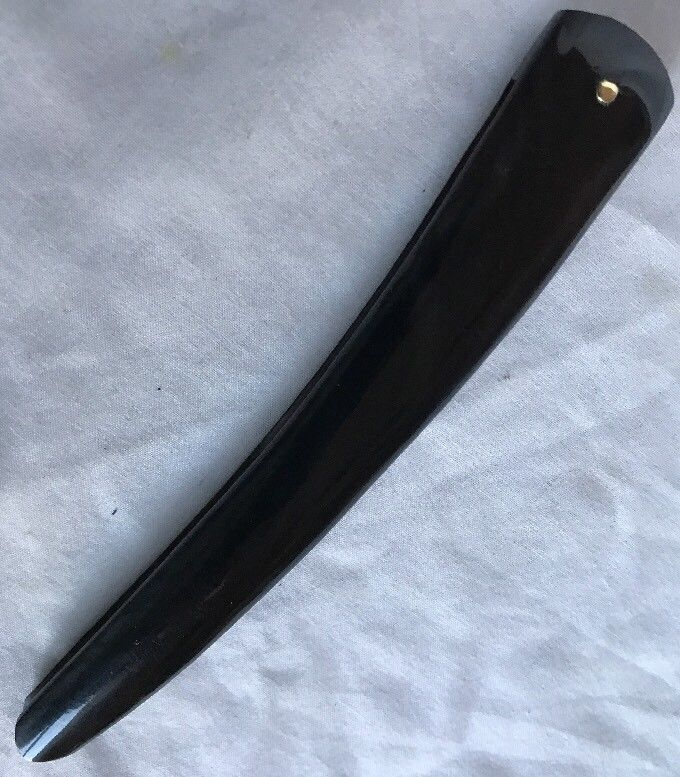 Buffalo Horn Straight Razor Scales For Puma Dovo Boker Razor Making