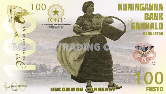 UNC Private Issue Kuninganna SET 5;10;25;50;100;200;500;1000 Fusto 2015