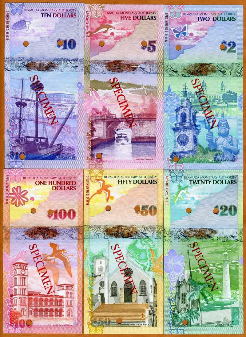 New Bermuda Money For 2009 Banknote Forum Coinpeople Com