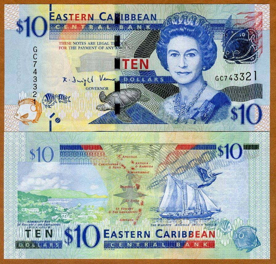 SET Eastern East Caribbean 2016 P-New ND UNC /> Upgraded $10-20-50-100