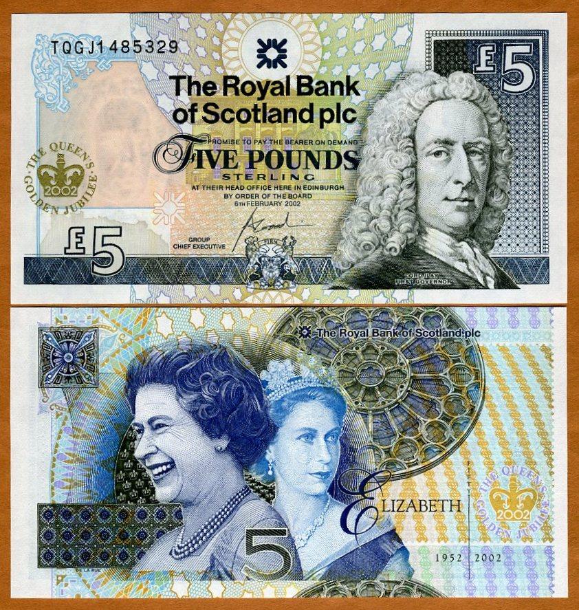 Scotland QEII UNC /> Commemorative Diamond Jubilee 6-6-2012 P-368 10 pounds