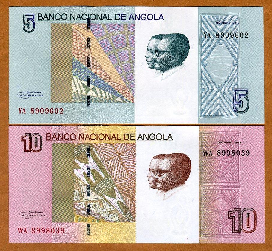 Angola 2012 2017 P-New 5 Kwanzas UNC /> Ruacana Falls