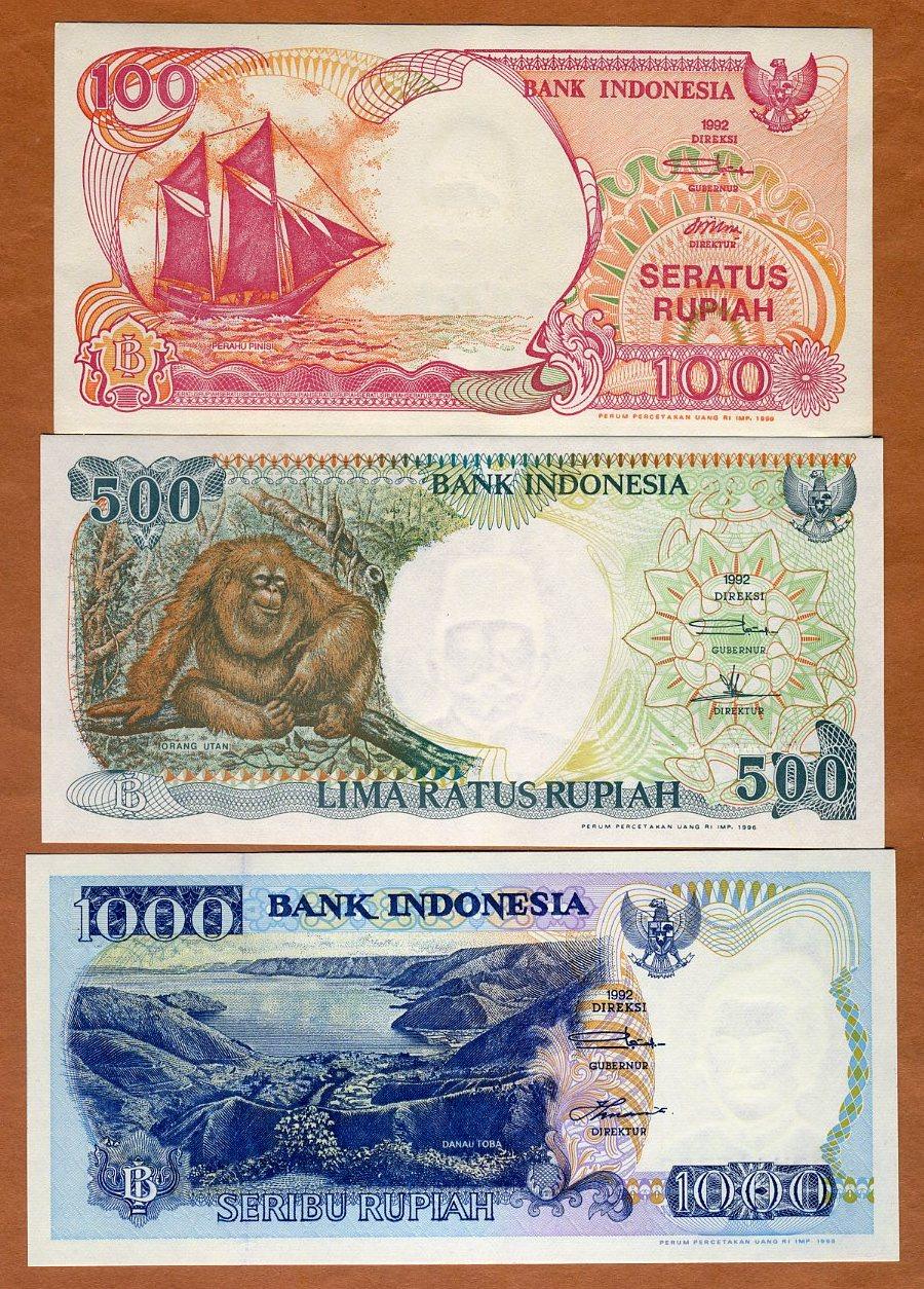Indonesia 1000 Rupiah 1992//2000 Pick 129.i UNC Uncirculated Banknote