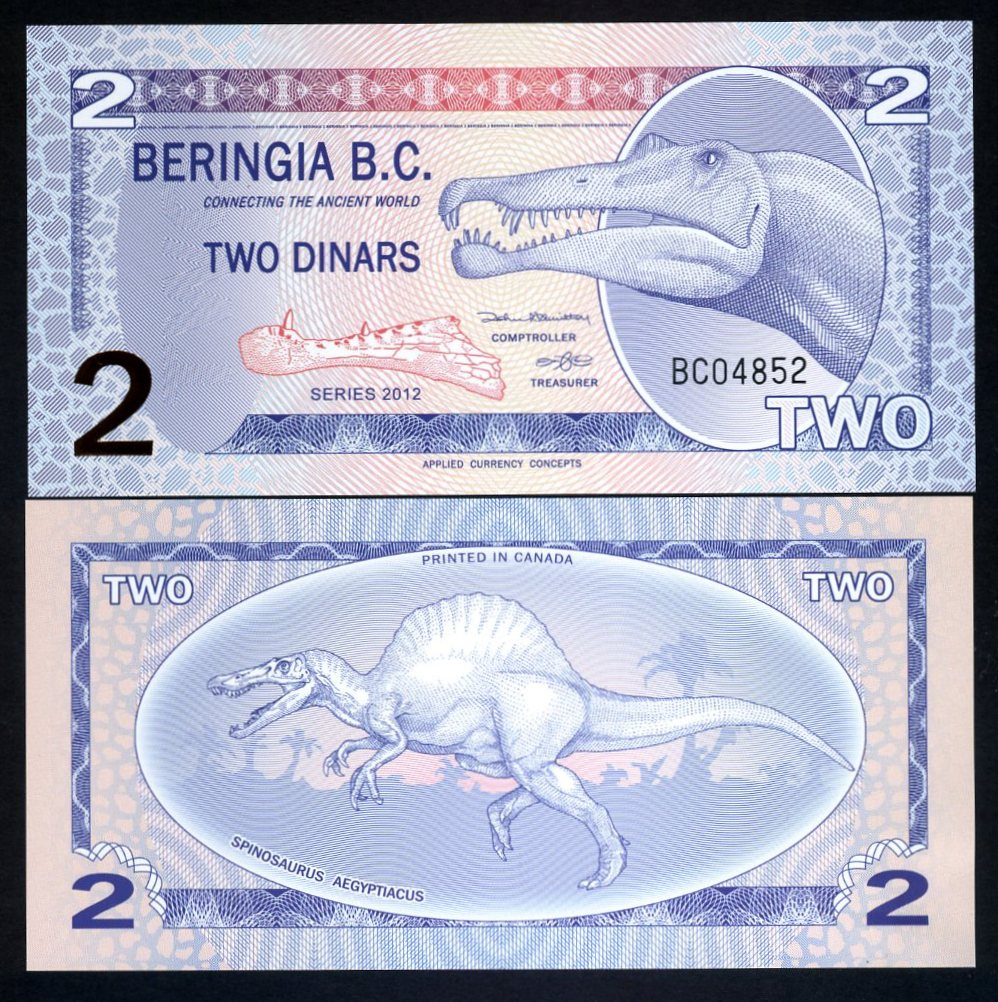 Parrot Polymer 2 Dollars Piwi Island UNC 2017