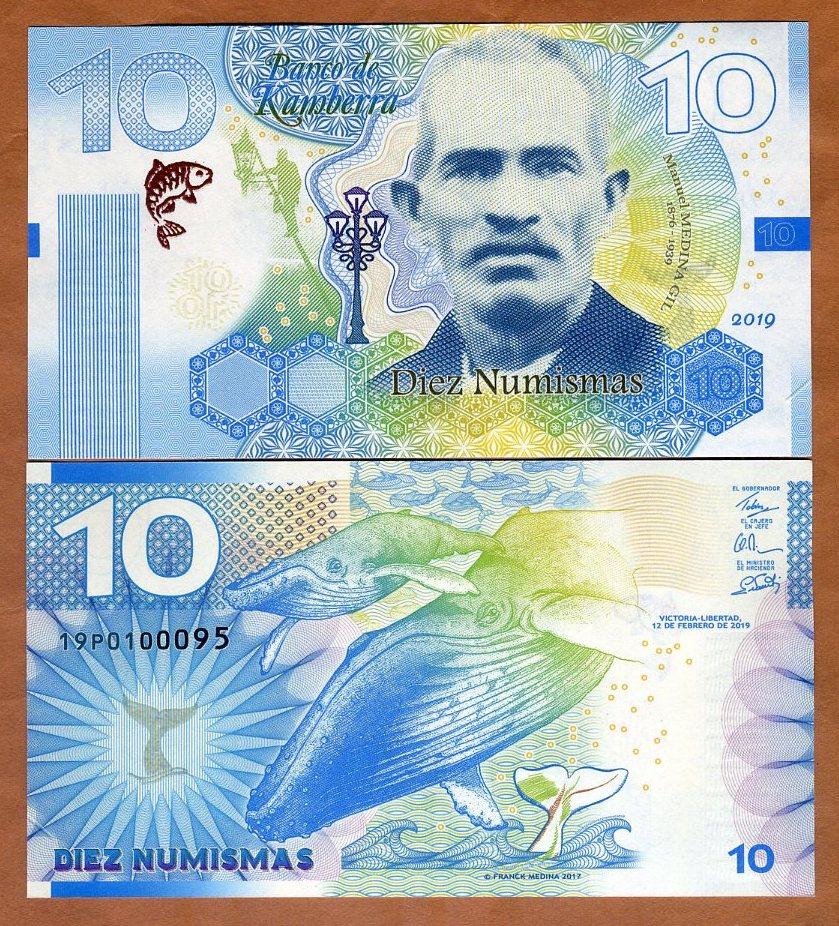 2020 200 Numismas UNC /> Shark Kamberra Redesigned Basic Series