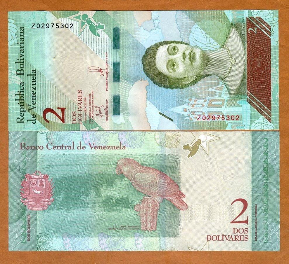 Bolivares Venezuela 20000 2017 P-New Z-Prefix UNC /> REPLACEMENT 20,000