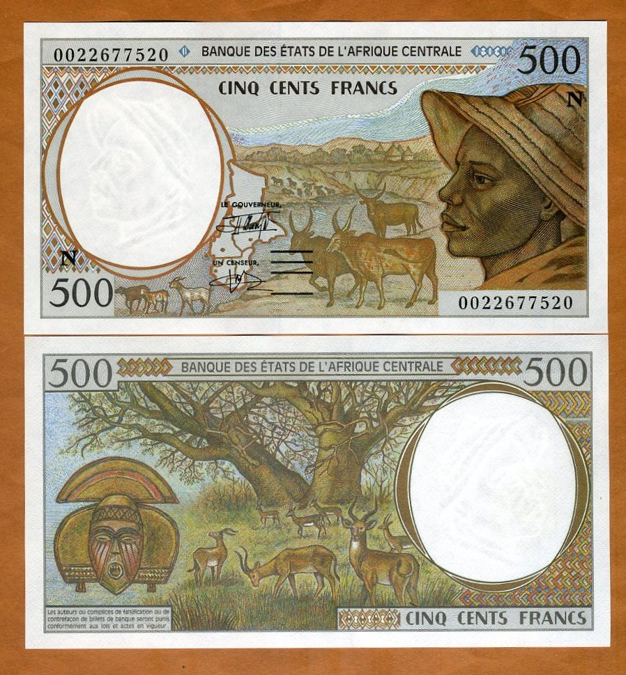 C.A.S Central African States Equatorial Guinea 2,000 Francs 2000 P-503Ng