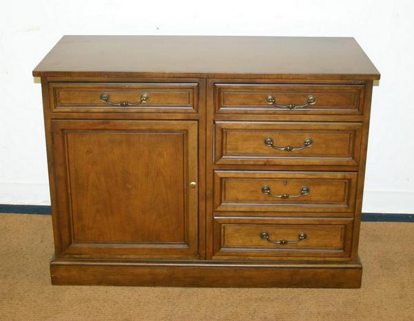 Antique Baker Furniture Credenza Cabinet Chest Drawers Ebay