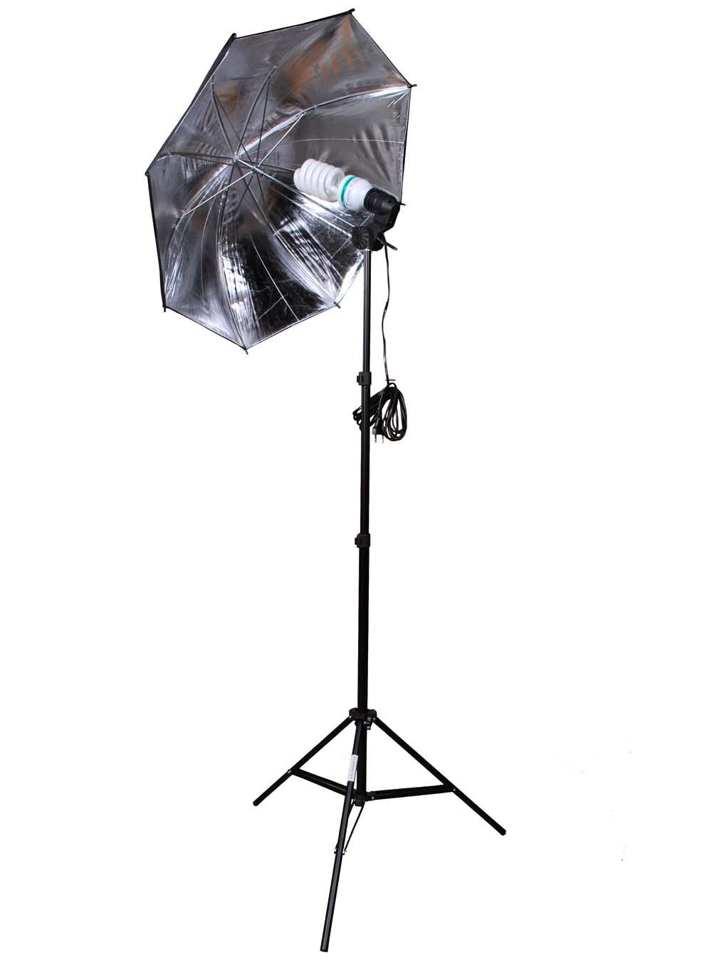 Fotolampe Reflexschirm Stativ