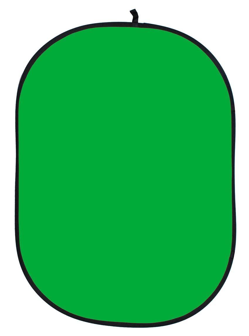Faltreflektor, grün/greenscreen