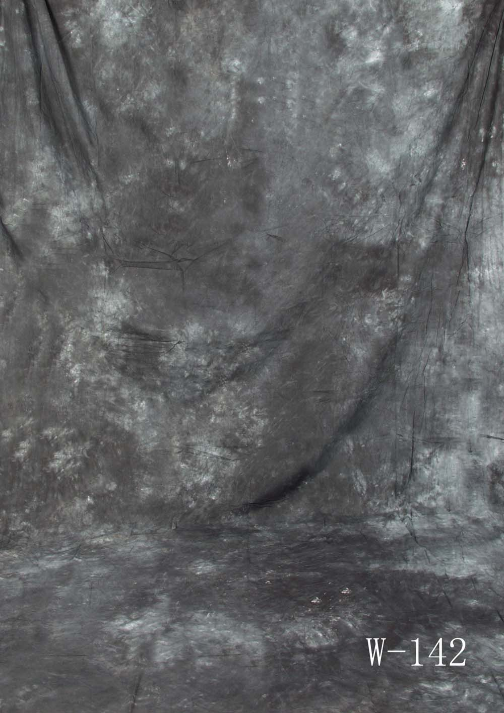 Fotostudio Hintergrund  strukturiert Dunkelgrau Batik
