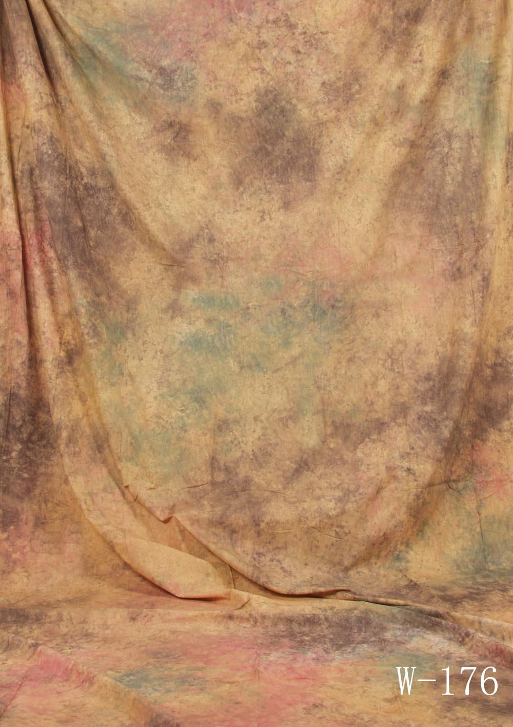 Fotostudio Hintergrund  strukturiert erdfarben Batik