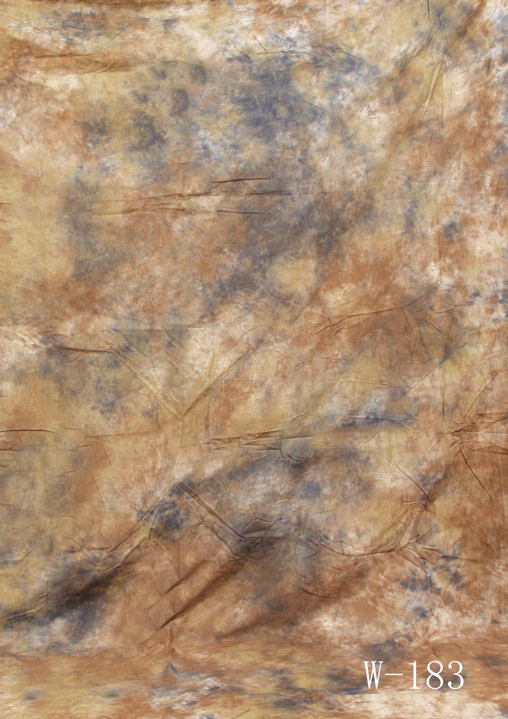 Fotostudio Hintergrund  strukturiert hellbraun Batik