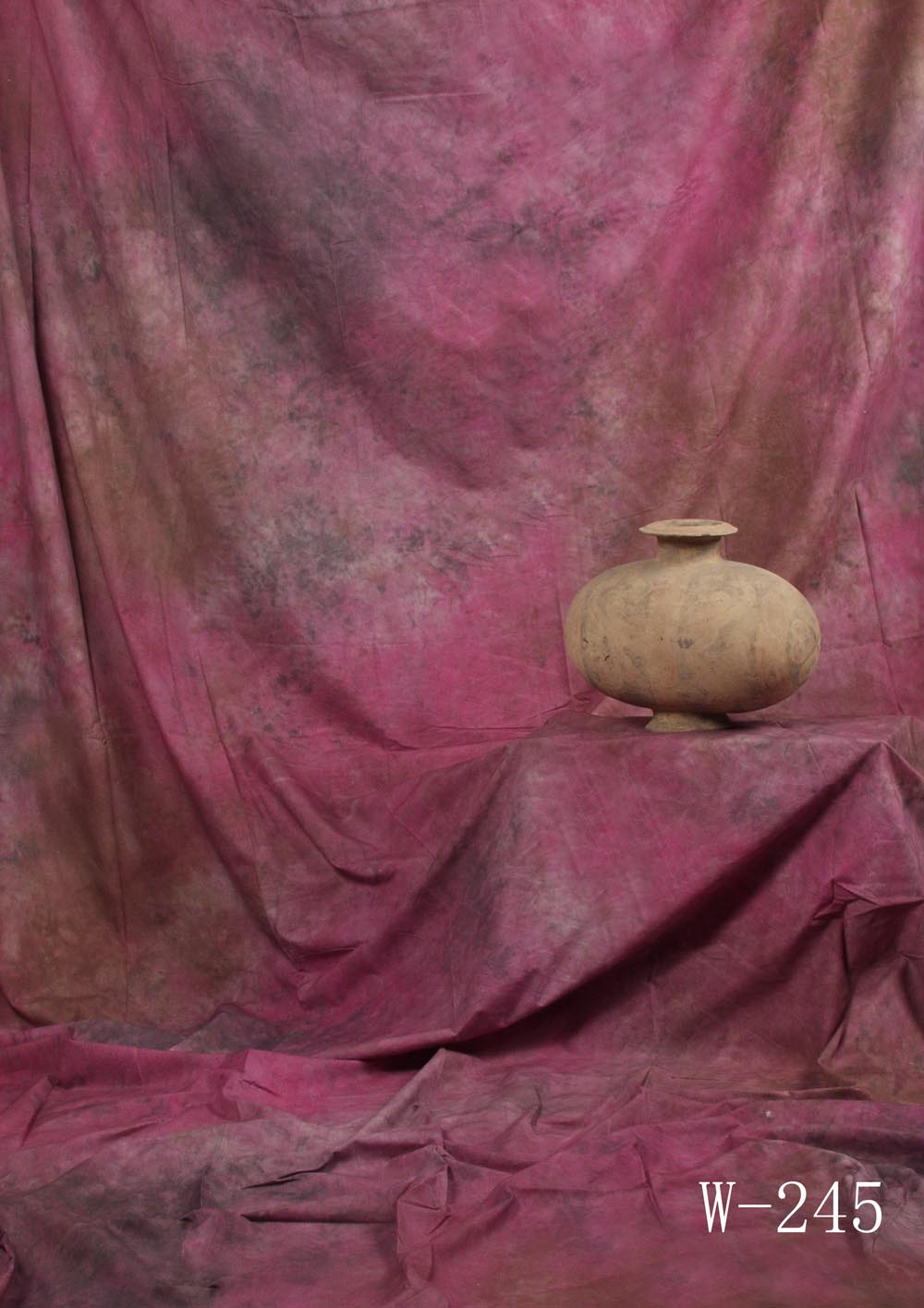 Fotostudio Hintergrund  strukturiert pink Batik