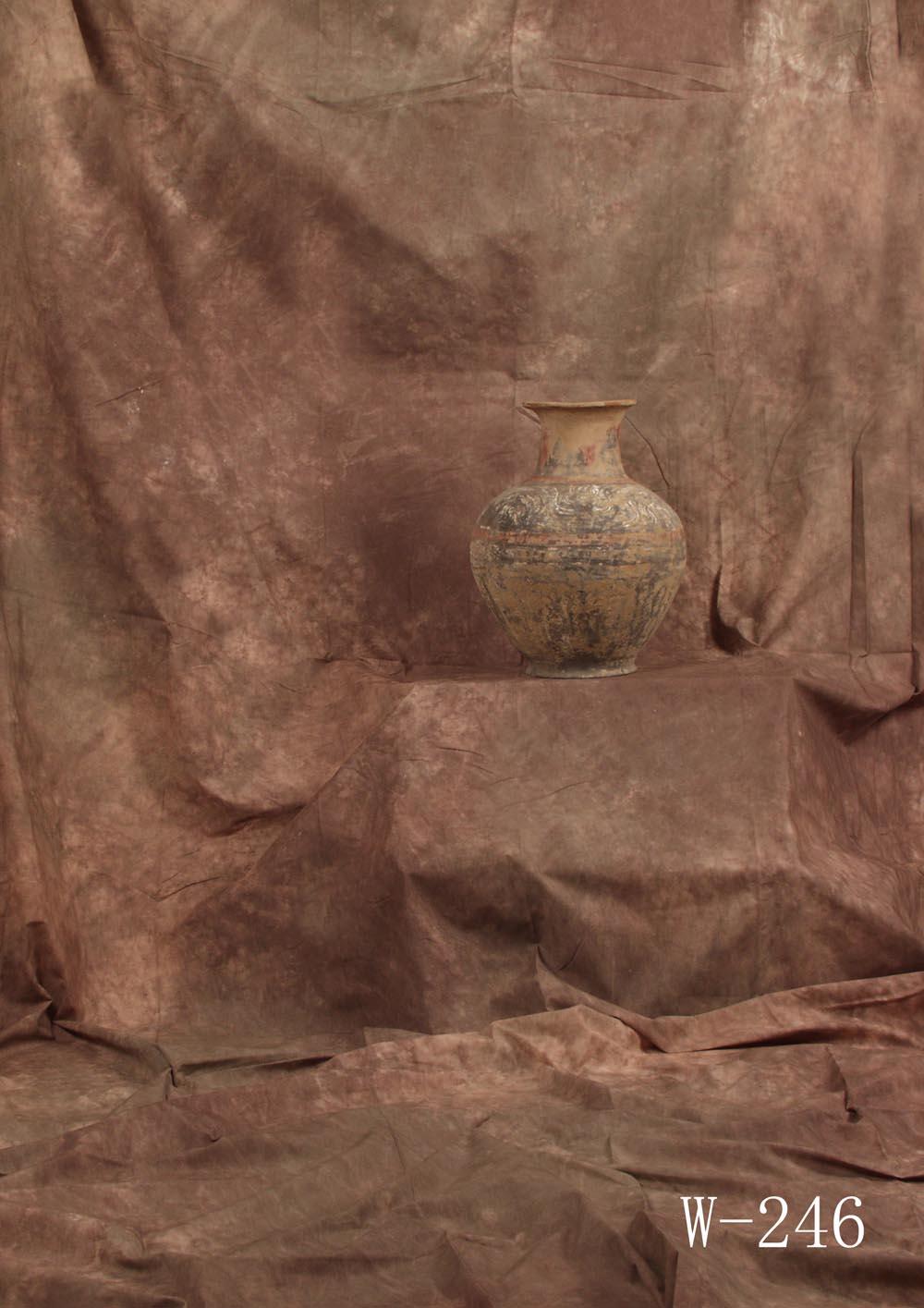 Fotostudio Hintergrund  strukturiert Kakao Braun Batik
