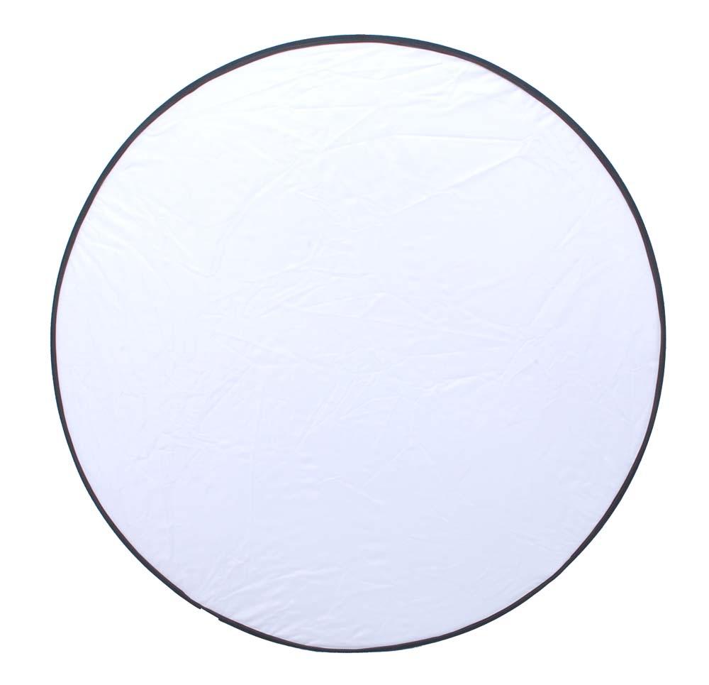 5in1 Reflektoren Set rund, 107cm, weiß, schwarz, silber ...