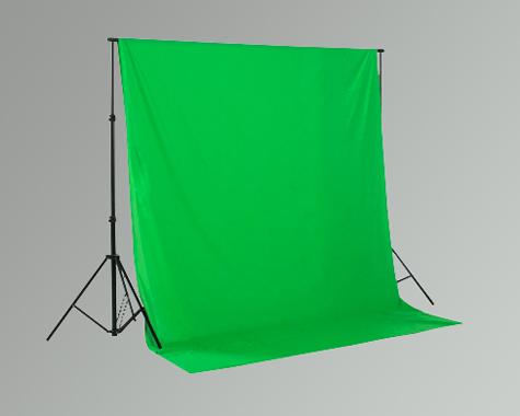 Hintergrundsystem Studiohintergrund greenscreen Chromakey